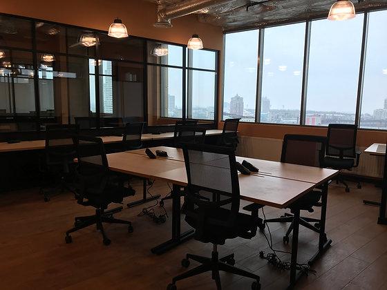 Офис  для команды из 18-20 человек 56м2 в БЦ Сенатор