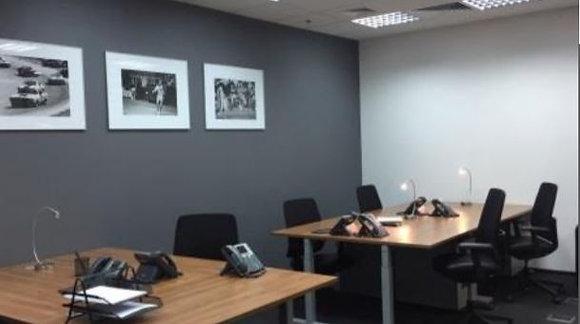 Меблированный офис в БЦ Гулливер на 14 мест