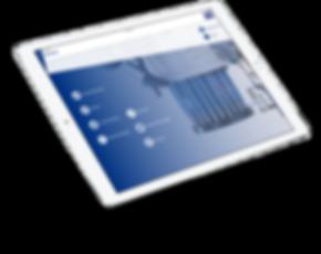 MMI Projekt auf iPad