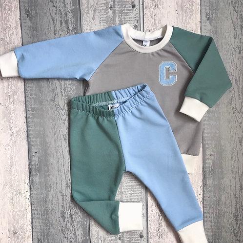 Retro Set - Baby Blue & Mint