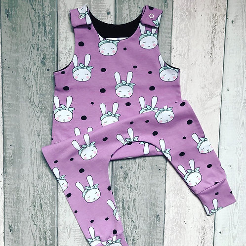 Romper - Organic Bunnies With Bows