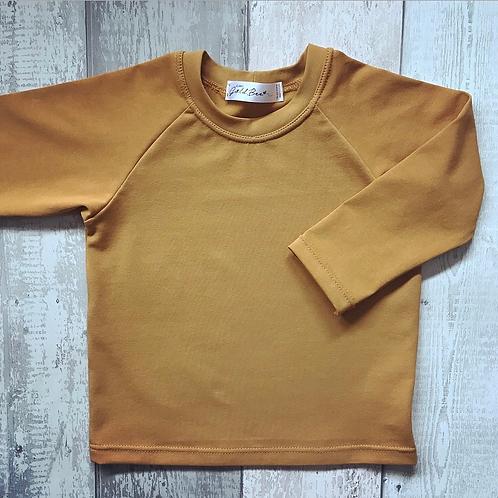 Long Sleeve Top - Mustard