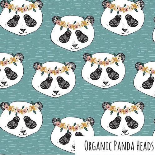 Shortie Romper - Organic Panda