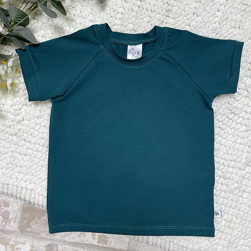T-Shirt - Petrol Green