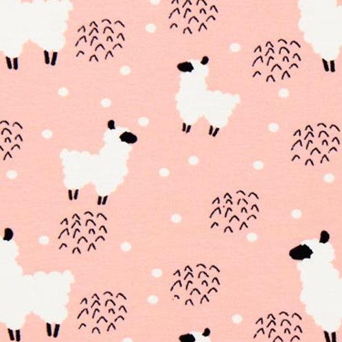Pinafore Dress - Llamas