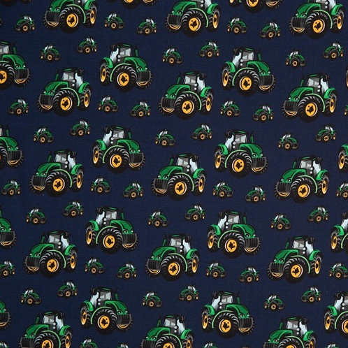 Shorts - Navy Tractors Traditional Style