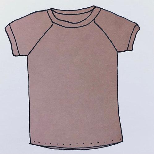 T-Shirt - Dusky Purple