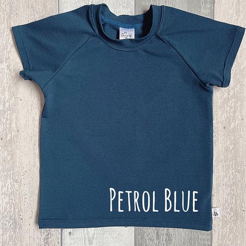 Long Sleeve Top - Petrol Blue