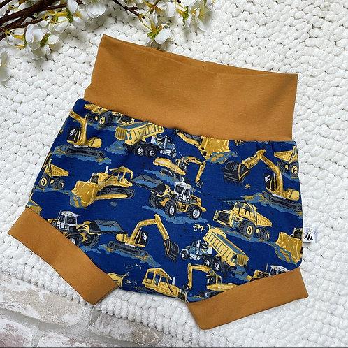 Shorts - Construction Diggers