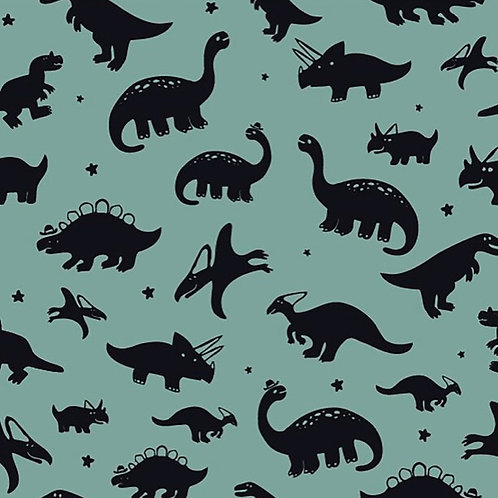 Dresses - Dinosaurs On Mint
