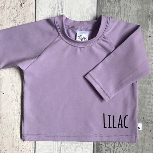 Long Sleeve Top - Lilac
