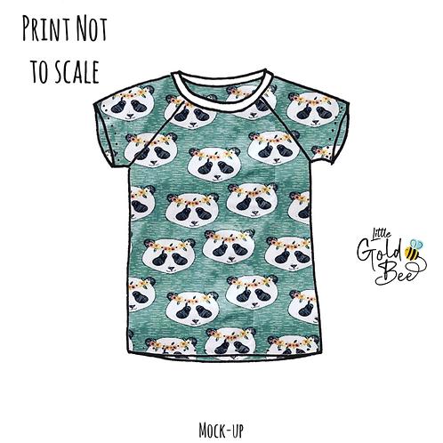 Long & Short Sleeve Tops - ORGANIC Pandas