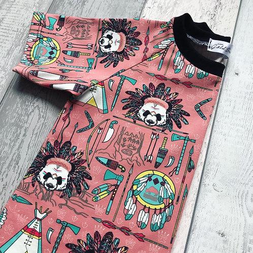 Aztec Panda - Pink