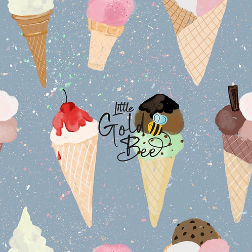 Full Leg Dungarees - Ice Creams