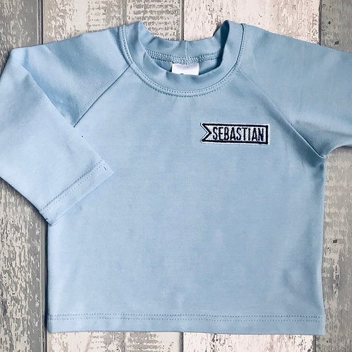 Long Sleeve Top - Baby Blue