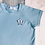 Thumbnail: Long Sleeve Top - Baby Blue