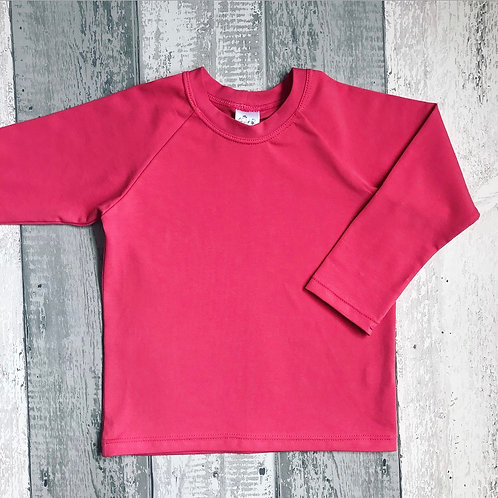 Long Sleeve Top - Coral Pink