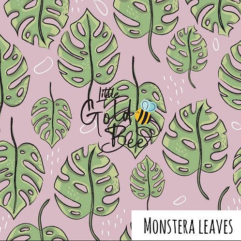 Shorts - Monstera Leaves