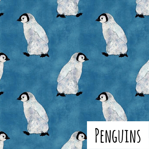 Jersey Dress - Penguins