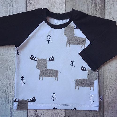 Long & Short Sleeve Tops - Winter Elk