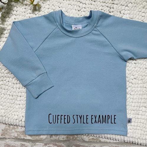 Long Sleeve Top - Baby Blue