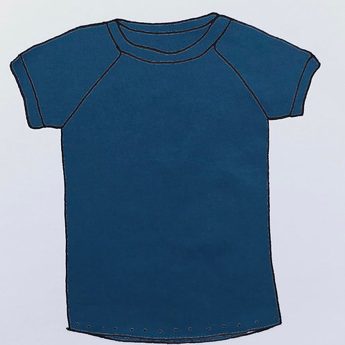 T-Shirt - Petrol Blue