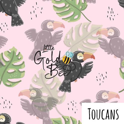 Shortie Romper - Toucans