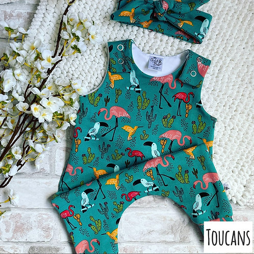 Full Leg Dungarees - Non-Exclusive Thicker Weight Fabrics