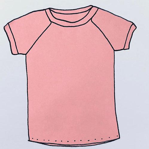 T-Shirt - Salmon Pink