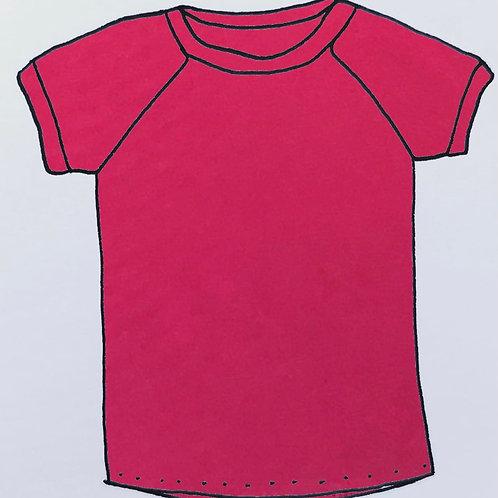 T-Shirt - Coral Pink