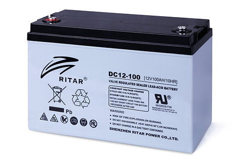 Ritar Hybrid Gel Battery - DC12-100MG