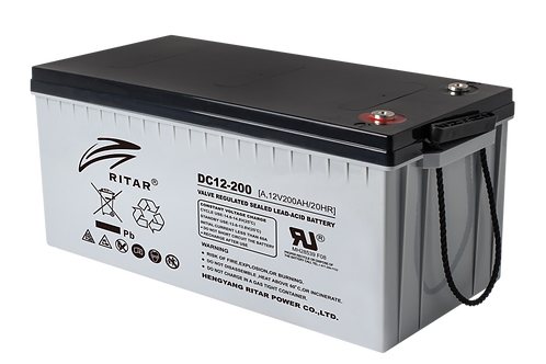 Ritar Hybrid Gel Battery - DC12-200MG