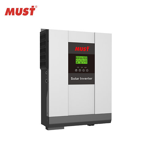 Must Solar Inverter - 3kva, 24v, with 80A MPPT Solar Charger