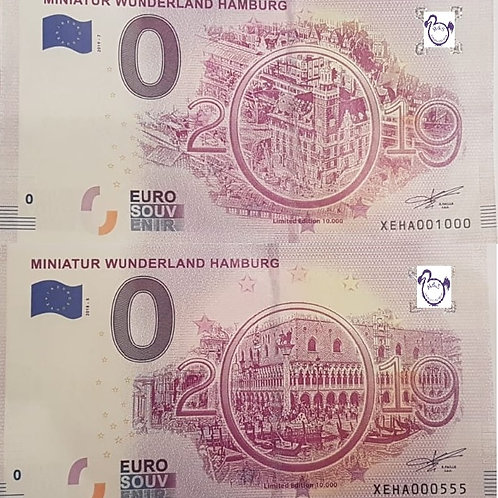 Kombi Miniatur Wunderland 2018-5& 2019-7
