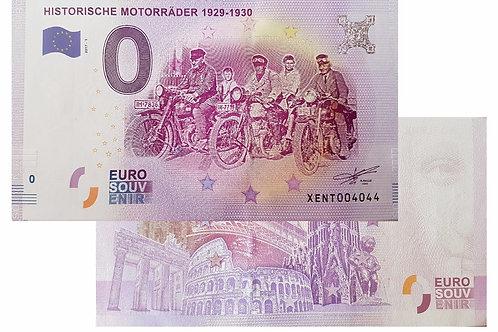 Historische Motorräder 1929-1930 2017-1