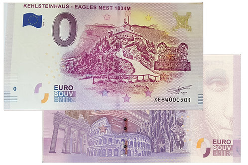 Kehlsteinhaus - Eagles Nest 1834M
