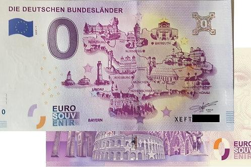 Deutschen Bundesländer - Bayern 2019-1