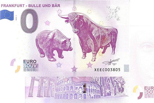 Frankfurt Bulle und Bär