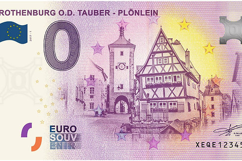 Rothenburg ob der Tauber - Plönlein 2017-1