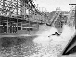 Chutes Splash down