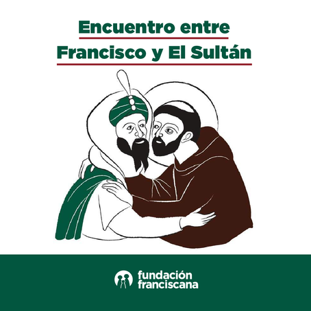 Encuentro entre Francisco y El Sultán.