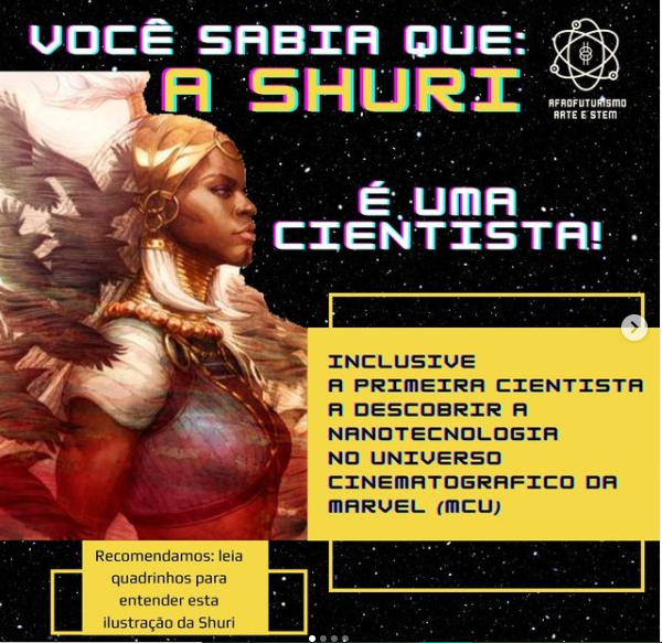 Did you know that Shuri is a Cientist?