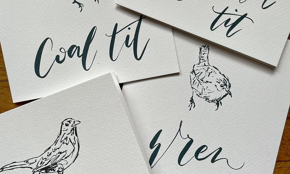 Garden Birds Card Set