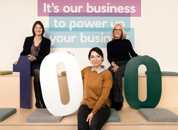 WOMEN'S CENTENARY VOTE MARKED WITH CALL FOR  NATIONAL WOMEN'S BUSINESS CENTRE