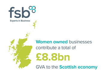 Women owned businesses contribute £8.8bn to the Scottish economy