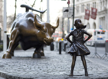 Fearless Girl Stands Up For Gender Balance