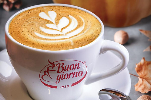 1 Cappuccino Cup with Saucer - Caffè Buongiorno