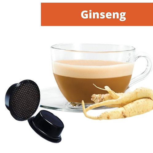 A Modo Mio compatible Ginseng capsule 5,5 gr.  Pack of 16 pieces