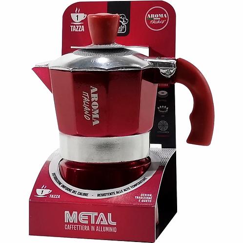 Aluminum Metal Gusto Casa Moka Pot - 3 cups