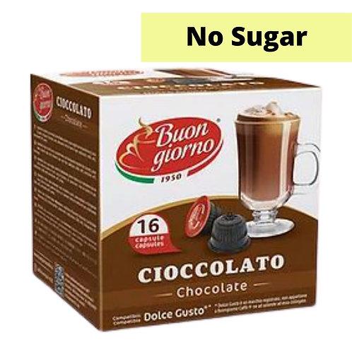 Dolce Gusto Compatible Cioccolato Sugar Free (16 Capsules)